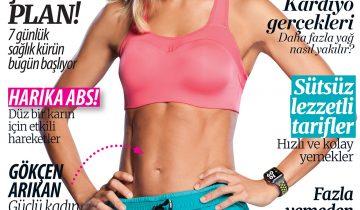 Women's Fitness – Temmuz 2017 sayısı Gökçen Arıkan Röportajı