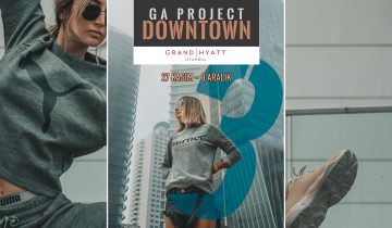 GA PROJECT DOWNTOWN 3, 27 KASIM'DA GRAND HYATT ISTANBUL'DA BAŞLIYOR!