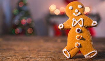 Sağlıklı Kurabiye Canavarlarına Yılbaşı Ginger Bread Cookie Man