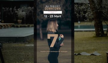 GA PROJECT DOWNTOWN 7, 12 Mart'ta GRAND HYATT İSTANBUL'DA BAŞLIYOR!